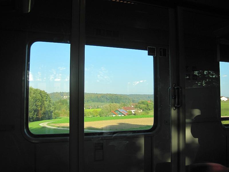 Blick aus dem fenster land  Bahnreiseberichte.de | Von Rottaler Land und Außerfern