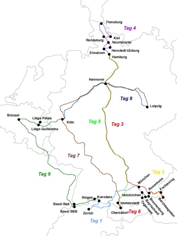 Bahnreiseberichtede Von Königssee Und Nebelhorn