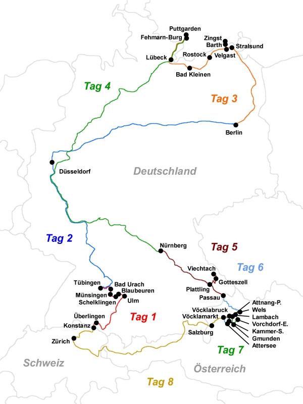 Fehmarn Karte Ostsee.Bahnreiseberichte De Von U Bahn Cabrio Ostsee Und
